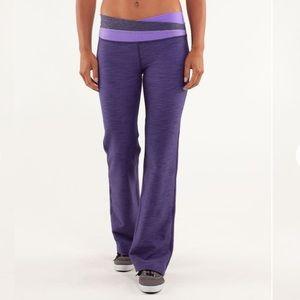 Lululemon RARE Purple Astro Pants Full On
